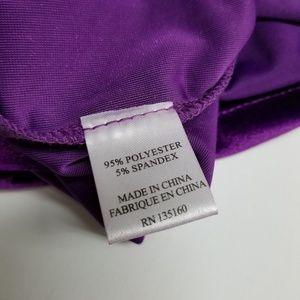 amelia Dresses - NEW Amelia Bright Plum Purple Velvet Midi Dress